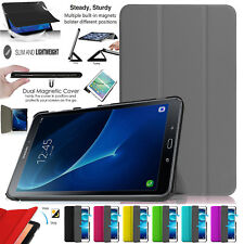 "Leather Smart Book Stand Case Cover For Galaxy Tab 4 (four) 10.1"", 8"", 7"" Inch"