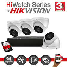 HikVision 4MP 4Ch Network Outdoor HD Camera POE NVR CCTV Home Security Kit IP67