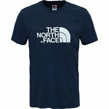 North Face Easy Homme T-shirt à Manche Courte - Urban Navy Tnf White