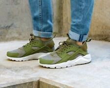 Nike Air Huarache Run Ultra BR-Men's Trainer (Variable sizes)-Olive/Grey-Brand N