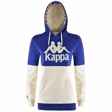 KAPPA AUTHENTIC ZAFILA FELPA street athletic sport DONNA CAPPUCCIO Aut/Inv 916uq