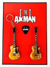 Joe Bonamassa - Les Paul Gold Top Studio: Keyring & Magnet Set (UK Seller)