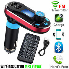 Bluetooth Wireless Car Kit FM Transmitter Radio MP3 Music Player With USB Port