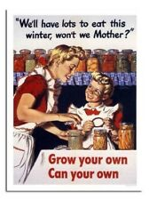 Grow Your Own Possono Your Own War Vintage Poster Stampa Nuovo