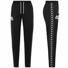 KAPPA PANTALONI DONNA sportivi AUTHENTIC AMWOR STREET Nero Bianco NEWS NEW 907yi