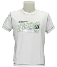 Champion CAMISETA M/M mod. BASKETBALL col. Blanco/Verde