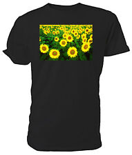 Sunflowers T shirt - Choice of size & colours.