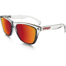 Oakley Frogskin Crystal Collection Mens Sunglasses - Polished Clear ~ Torch