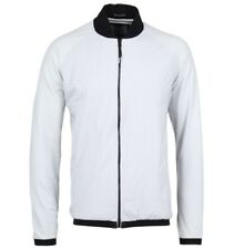 Weekend Offender Quartz Off-White Quilted Panel Bomber Jacket