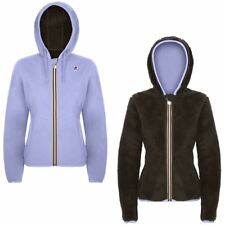 K-WAY LILY POLAR FLEECE FELPA DONNA CAPPUCCIO AUT/INV KWAY Violet Marrone 920lou