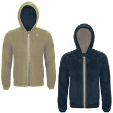 K-WAY JACQUES POLAR DOUBLE FELPA reverse GIACCA UOMO Warm CAPPUCCIO KWAY 926vice