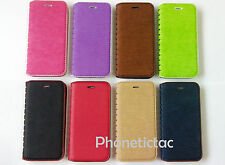 Luxury Magnetic Flip Cover Stand Wallet Leather Case For Various LG Phones