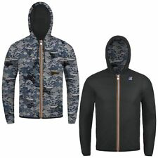 K-WAY JACQUES PLUS DOUBLE GRAPHIC giacca reverse KWAY UOMO meteo Idrorep. 991tnq