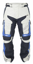 RST Adventure 3 III Textile Motorcycle Riding Jeans - CE APPROVED - Blue/Sand