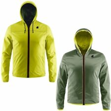 K-WAY UOMO JACQUES KL AIR MESH DOUBLE PELLE giacca reverse KWAY Around The 945qk