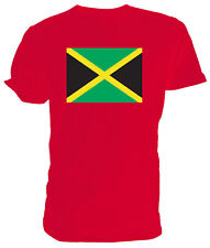 Jamaican Flag T shirt - Choice of size & colours.