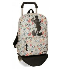 Mickey - Zaino originale Mickey True -32x42x16cm con trolley-.. Bambini