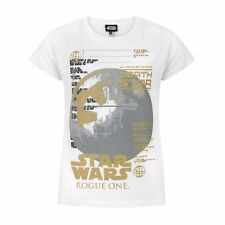 Star Wars - Camiseta de manga corta oficial modelo Rogue One Metallic (NS363)
