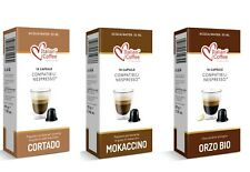 Nespresso compatible pods FLAVORED DRINKS capsules Italian Coffee FREE SHIPPING