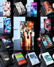 Cover book flip case holder wallet faux leather Lenovo A319