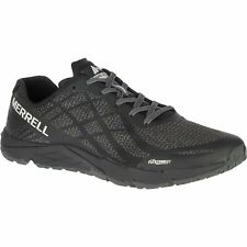 Merrell Bare Access Mens Footwear Barefoot Trainers - Black & White All Sizes
