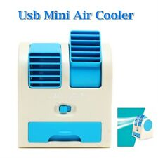 Portable Mini Desktop Air Conditioner USB Rechargeable Small Fan Cooling Cooler