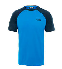 The North Face - T-shirt blu Tanken Uomo Outdoor Poliestere  All'aperto