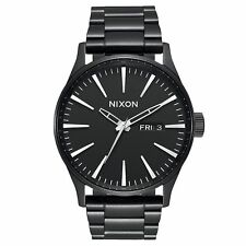 Nixon Sentry Ss Mens Watch - All Black One Size