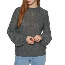 Volcom Hellooo Sweater Femme Pull - Heather Grey Toutes Tailles