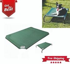 Dog Beds Elevated Pet Bed Replacement Cover, Green, Small, Medium, X-large