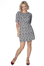 Women's Fashion Faces Vintage Retro Rockabilly 50's Dress By Banned Apparel