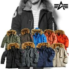 Alpha Industries Herren Jacke Polar Jacket Winterjacke Parka Fell Men S bis 3XL