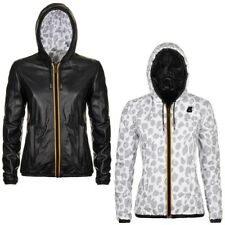 K-WAY PELLE LILY KL AIR PADDED DOUBLE giacca reverse imbottita KWAY DONNA 932csa