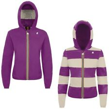 K-WAY KWAY LILY PLUS DOUBLE INSERTED giacca reverse CORTA DONNA Variable 903deyb