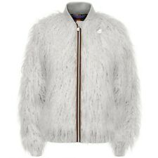 K-WAY KWAY KATIE SHEEP GIUBBOTTO bomber DONNA ECO PELO Aut/Inv COLD buster W0Doa