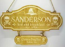 Halloween Sanderson Bed and Breakfast Sign, Halloween Sign, Sanderson Sisters,