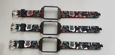 Sony SmartWatch 3 SWR50 Black Housing (Adapter) & Camouflage Silicone Strap