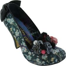 Irregular Choice Be Yourself Mujer Metálico Floral con Purpurina