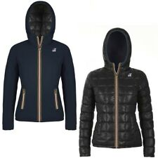 K-WAY LILY THERMO PLUS DOUBLE giacca donna imbottita KWAY reverse Aut/Inv F95qda