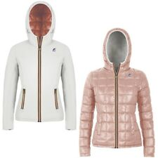 K-WAY LILY THERMO PLUS DOUBLE giacca donna imbottita KWAY reverse Aut/Inv 976vye