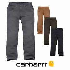 Carhartt 100096 Weathered Duck 5-Pocket Pant - Pantaloni da Lavoro