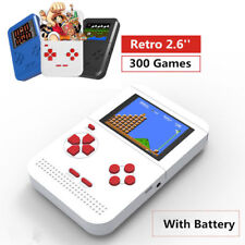 New  300 Games 2.6'' LCD  Retro Gaming Console 8 bit FC Pocket handheld player
