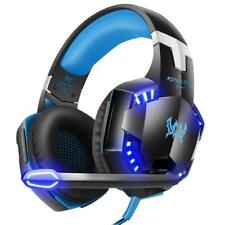 Gaming Headset Surround Stereo Gaming Headphones with Noise Cancelling Mic LED