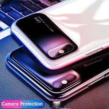 Antiurto Vetro Temperato+PC Custodia Per iPhone XS Max/Xr Cover Hard Bumper Case