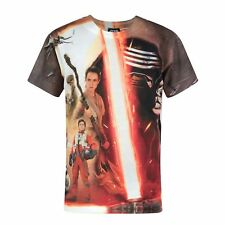 Star Wars - Camiseta de manga corta oficial de Star Wars modelo Force (NS187)