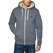 Billabong All Day Sherpa Homme Sweat à Capuche Avec Fermeture Éclair - Navy