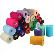 """TULLE ROLL SPOOL 6""""x200 YDS (600 FT) TUTU WEDDING BOW GIFT CRAFT DECORATION"""