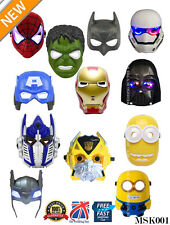 Super Eroe Avengers Hulk Batman Capitan America Spiderman e Iron Man Led