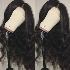 8A Brazilian Virgin Human Hair Wig Glueless Full Lace Wigs With Baby Hair Around