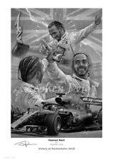 Lewis Hamilton Hockenheim 2018 Fine Art Prints by Stephen Doig